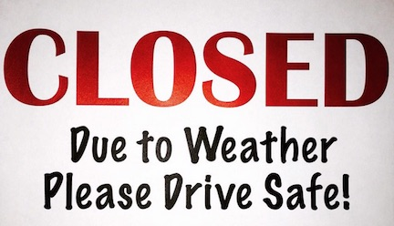 State Offices Closed Due to Weather   Around the Town