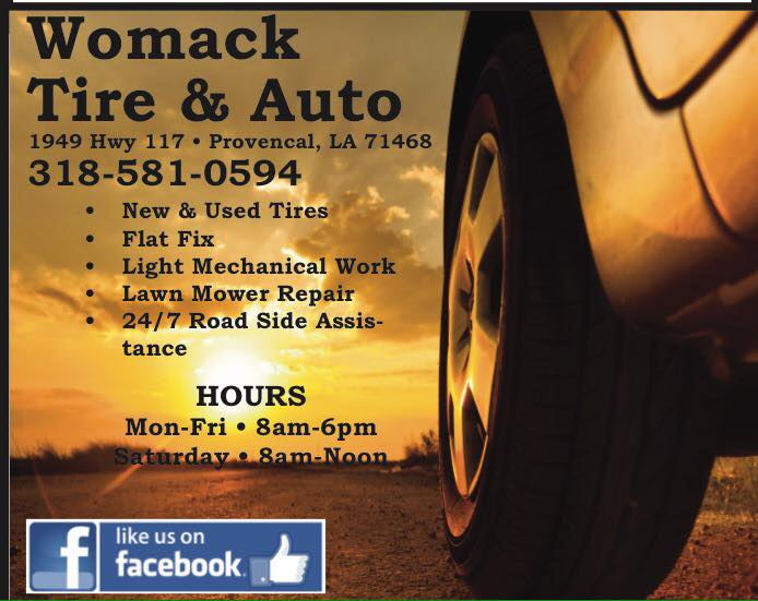 Womack Tire AD