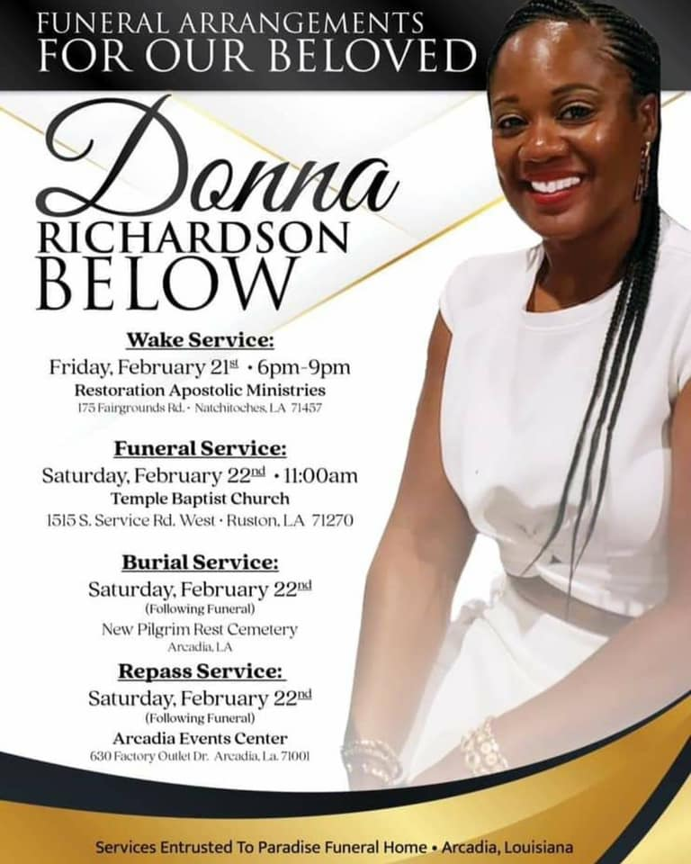 Donna Below Obit