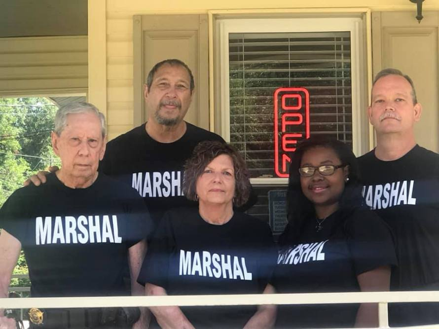 Natchitoches City Marshal Photo of Staff