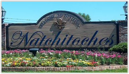 City of Natchitoches Entrance sign