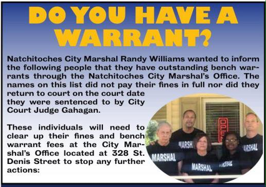 Do You Have A Warrant