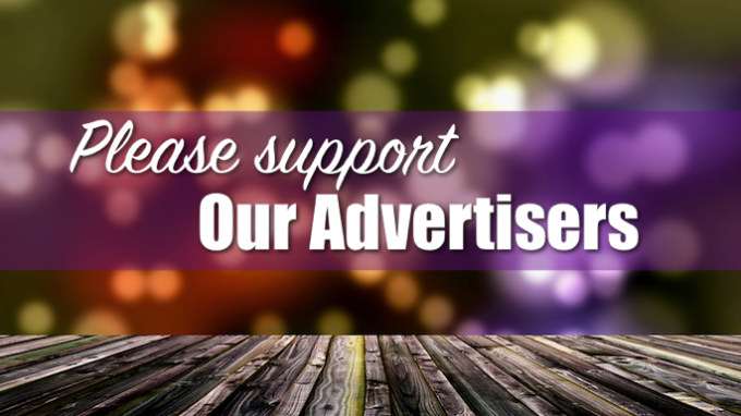 Support our advertisers coronavirus