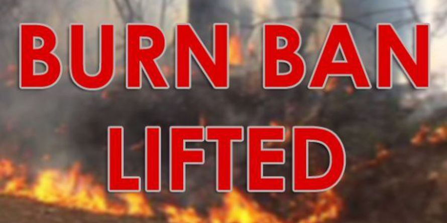 Burn Ban Lifted 424