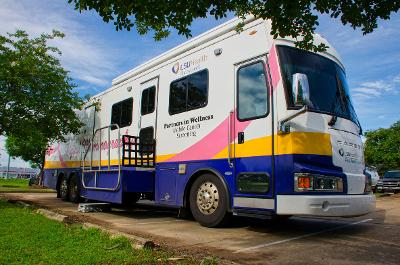 Cancer Screening bus