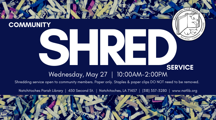 Community Shred Service in Natchitoches