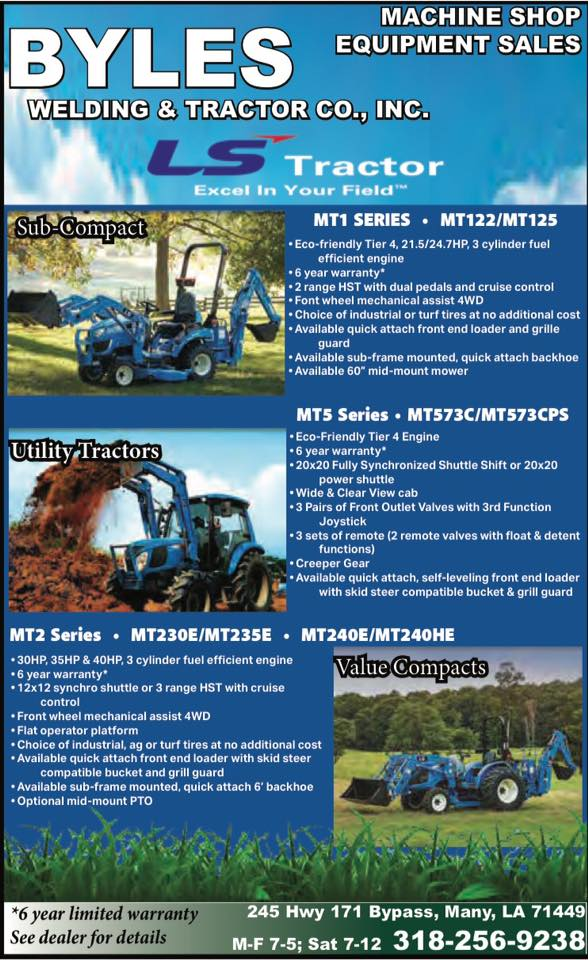 Byles LS Tractor CA