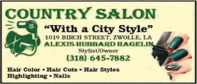 Country salon CA