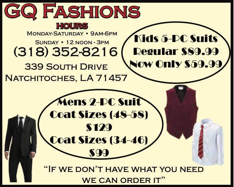 GQ Fashions CA