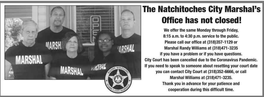 Natchitoches City Marshal CA