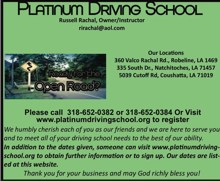 Platinum Driving CA