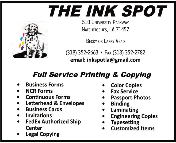 The Ink Spot 2 CA