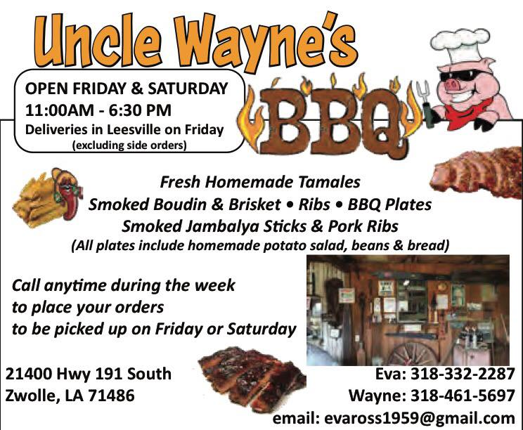 Uncle waynes CA
