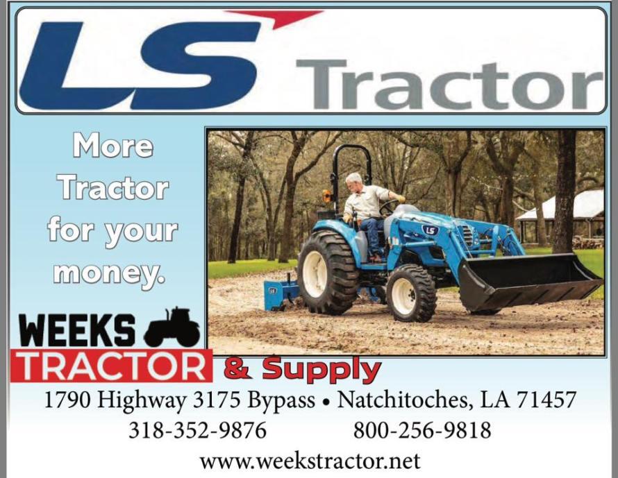 Weeks Tractor LS CA